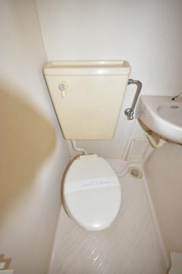 【トイレ】第三若草ハイツ