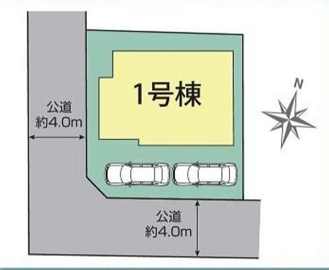 【区画図】練馬区南大泉1丁目 新築戸建