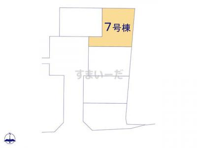 【区画図】クレイドルガーデン木津川市木津第26