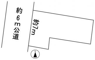 【区画図】57378 岐阜市日ノ出町土地