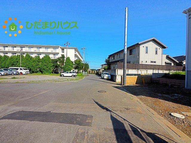 【前面道路含む現地写真】阿見町中央2期 新築戸建