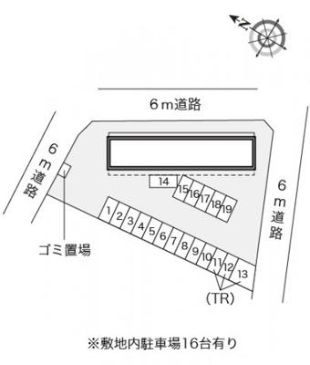 【区画図】レオパレスチェリーブロッサム