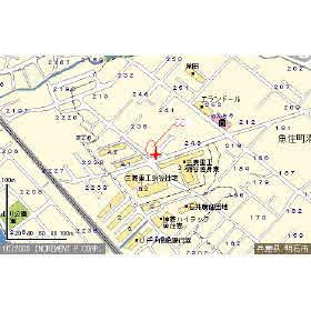 【地図】メゾン梅田