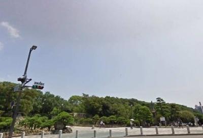 明石公園まで1100m