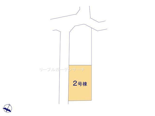 【区画図】瀬川1丁目2号棟新築戸建