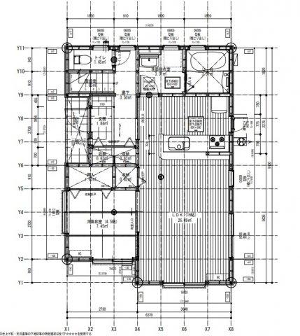 【完成予想図】リーブルガーデン東区西原第四 2号棟
