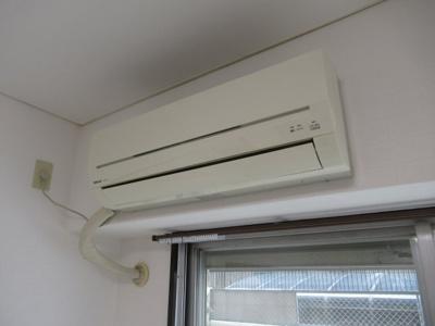 エアコンは残置物扱いです