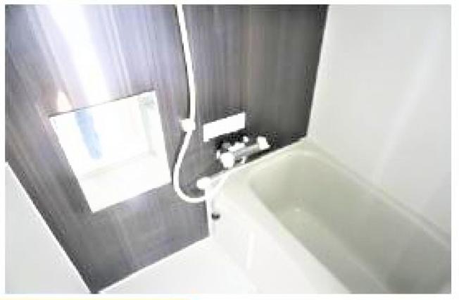 【浴室】横浜市南区別所3丁目の一棟売りアパート