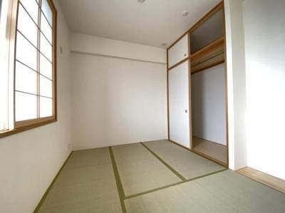 4.6帖の和室も南に面しています。