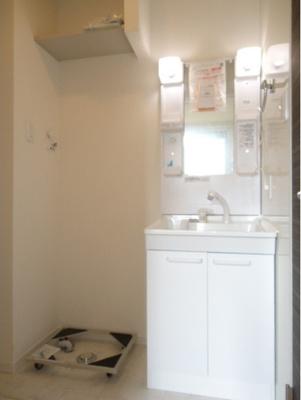 嬉しい独立洗面化粧台