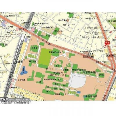 【地図】サンテミリオン目白