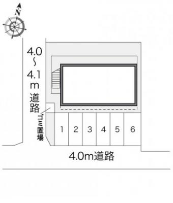 【区画図】レオパレスクレール