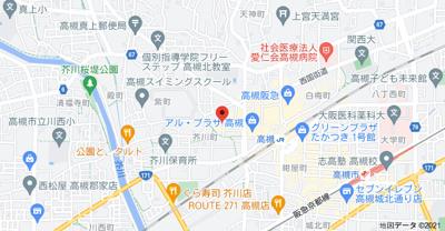 【地図】中村ハイツ (株)Roots