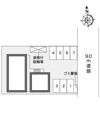 【その他共用部分】レオパレスフラワーヒル Ⅱ