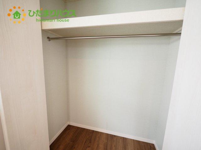 各居室にはしっかりと収納を完備!
