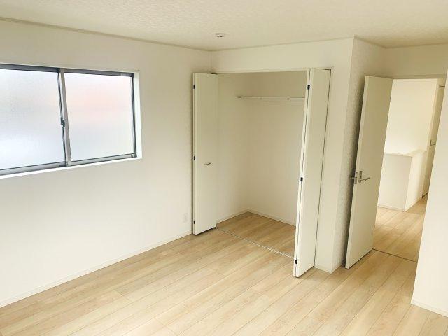 【同仕様施工例】各部屋クローゼットあります。収納ケースを上手に活用してすっきり片付けたいですね。