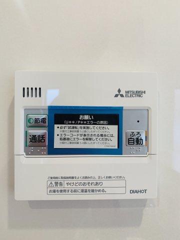 【同仕様施工例】来客が誰かをTVモニターで確認できます。防犯面も安心です。