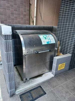 共用部に専用ゴミ置き場完備。