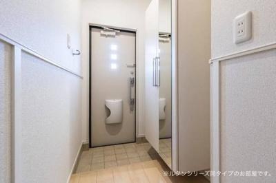 【玄関】カーサ・エスポア
