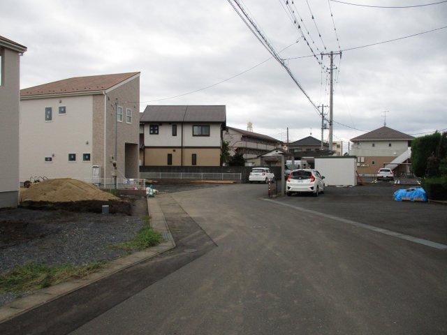 【前面道路含む現地写真】堀町新築戸建 7期