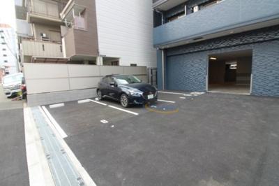 【駐車場】プレサンスOSAKA DOMECITYスクエア