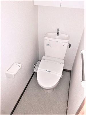 バスとトイレは完全個別です。