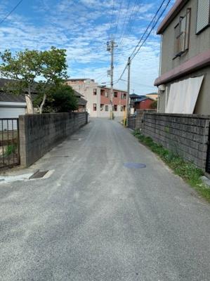【前面道路含む現地写真】明石市大久保町西島 新築戸建