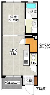 ラスパティオ  103号室