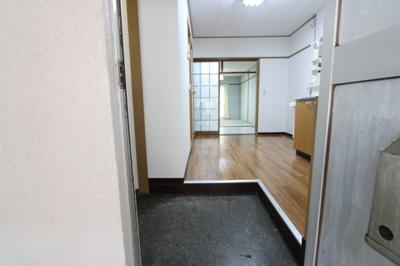 【玄関】竹美荘