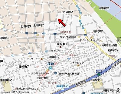 【地図】コスモクレールⅢ
