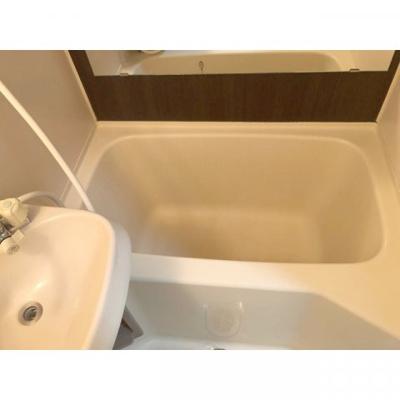 【浴室】コーポラスフジ