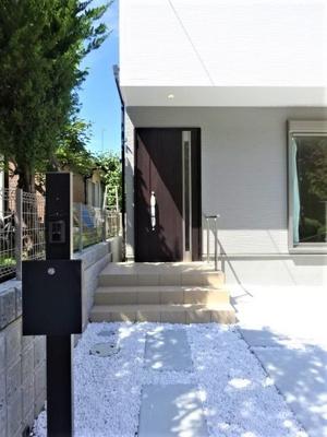 【玄関】神戸市垂水区学が丘4丁目 1号棟 新築戸建