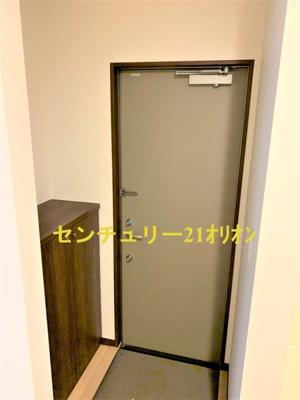 【玄関】ハウスCUBE2