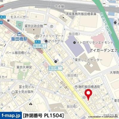 【地図】ルネサンス九段下ザ・レジデンス