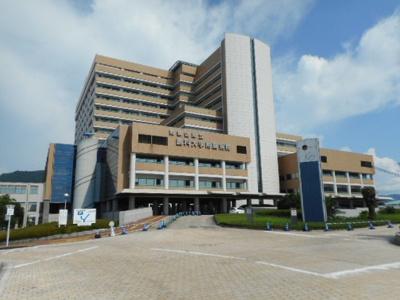 和歌山医科大学付属病院様まで3000m