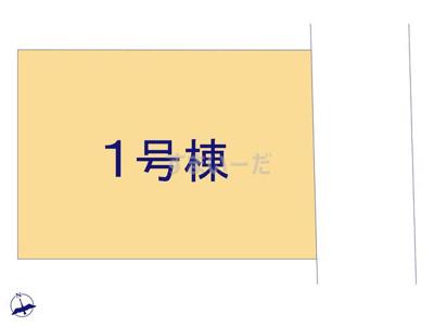【区画図】クレイドルガーデン枚方市楠葉丘第1