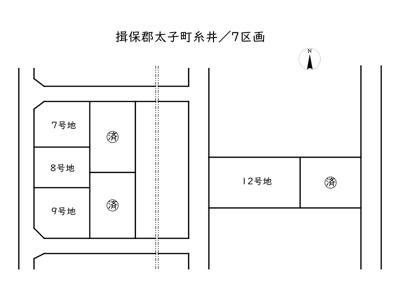 【区画図】揖保郡太子町糸井/7区画