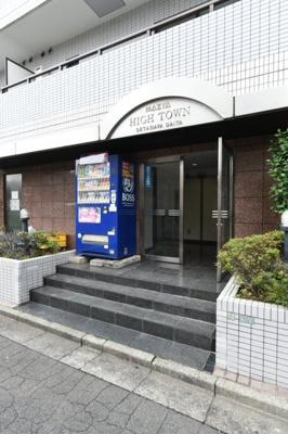 【エントランス】ハイタウン世田谷代田