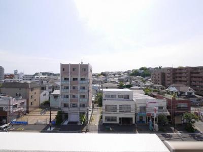 バルコニーからの眺望・南西向きです。