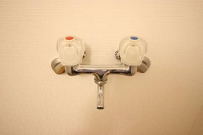 洗濯水栓 お湯も使えます