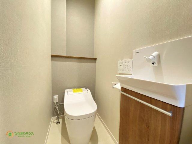 【トイレ】白岡市白岡 新築一戸建て