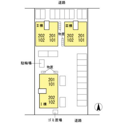 【区画図】シャルマン Ⅱ棟