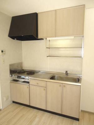 Ⅱ202 キッチン(2口ガスコンロ)