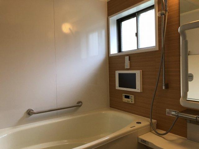 浴室TV付きの浴室です。