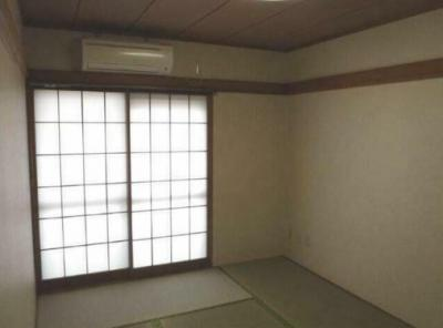 6.0畳の和室。
