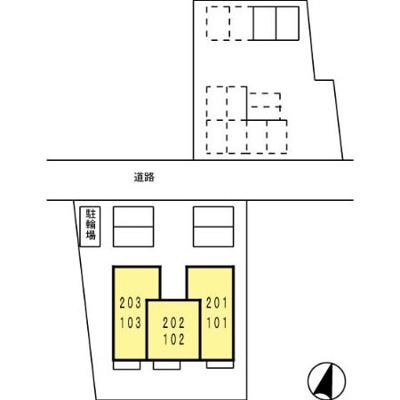 【区画図】コモド伊勢崎
