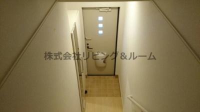 【玄関】CASA二本松3