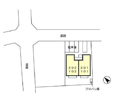 【区画図】セジュールブライト Ⅱ