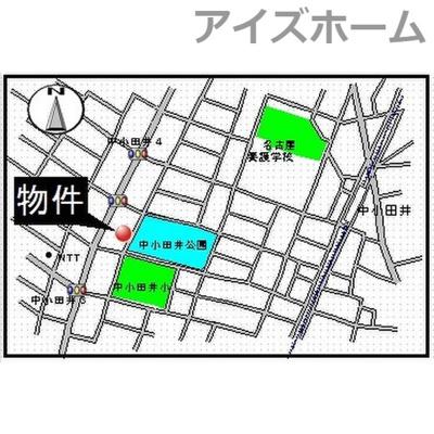 【地図】アーバン・フジ
