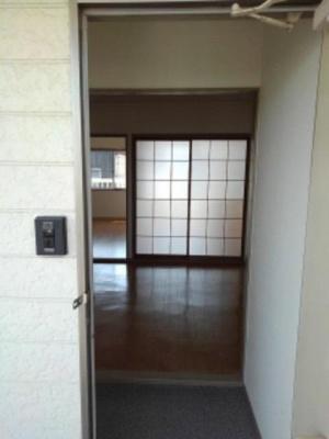 【玄関】シティハイツ新正B